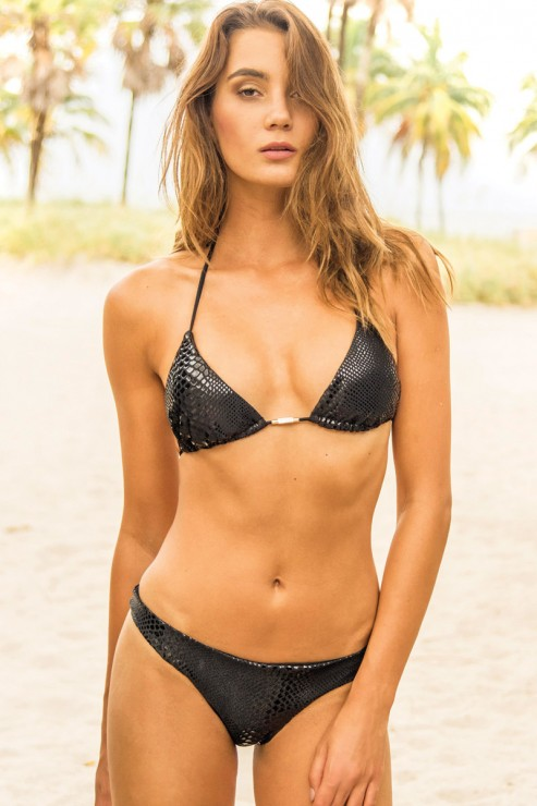 Eniqua - Black Mamba - Triangel Bikini Set