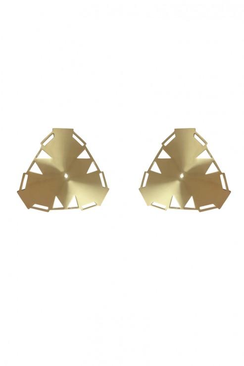 Bordelle Lingerie - Art Deco Nipplets - 24K Gold