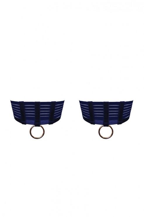 Bordelle Lingerie - Renee Garters - Navy Blau
