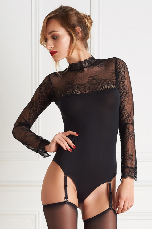 Maison Close - La Directrice Stringbody - Schwarz