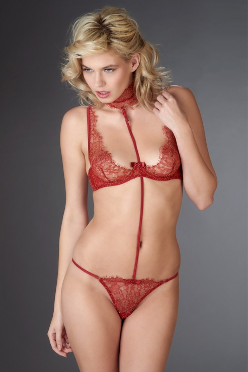 Maison Close - Jardin Imperial Harness - Rot