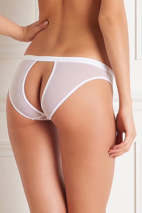 Maison Close - Pure Tentation Slip Ouvert - Weiss