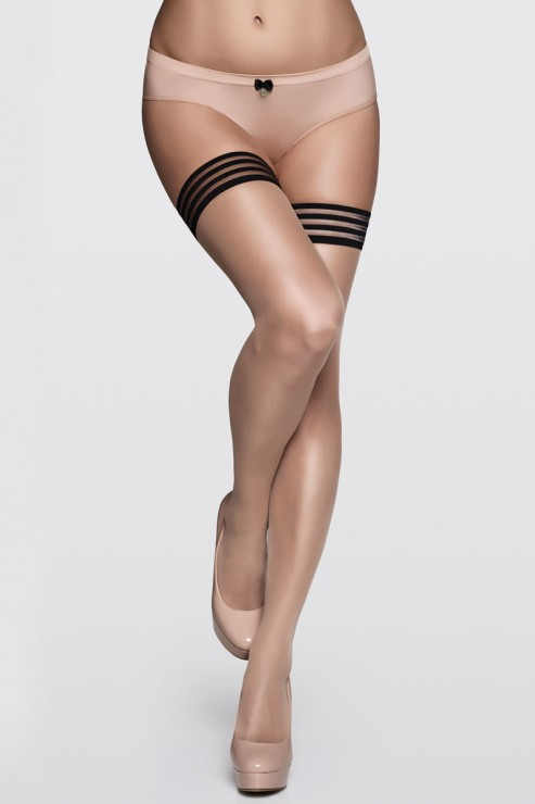 Marlies Dekkers - Stay up Stockings - Sand