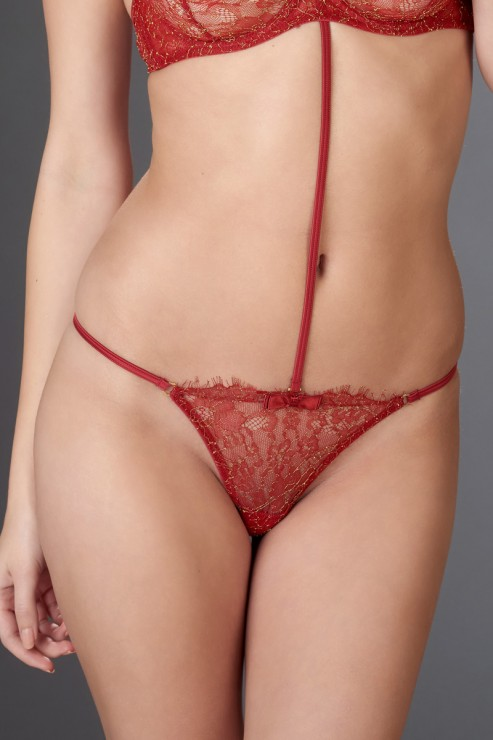 Maison Close - Jardin Imperial Mini String - Rot