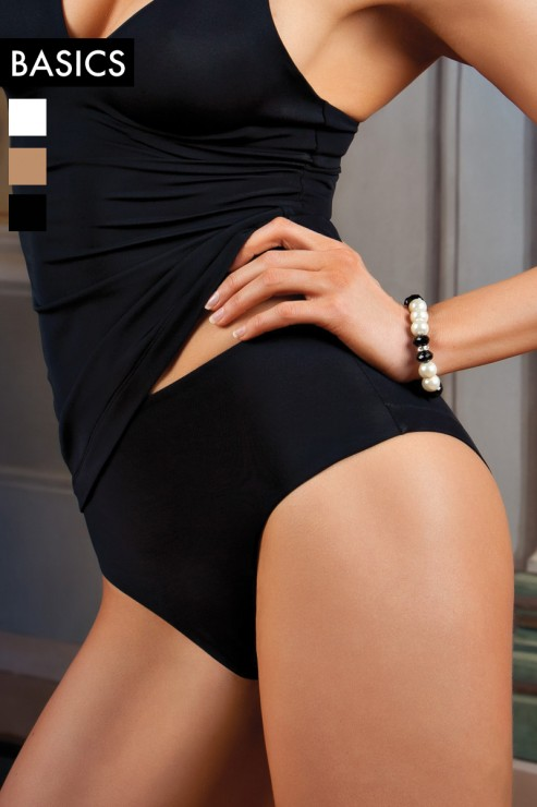 Cotton Club Basics - Panty Simonetta - Schwarz