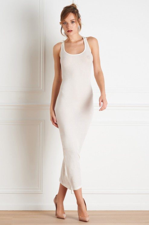 Maison Close - Bellevue Dress - Chamagner