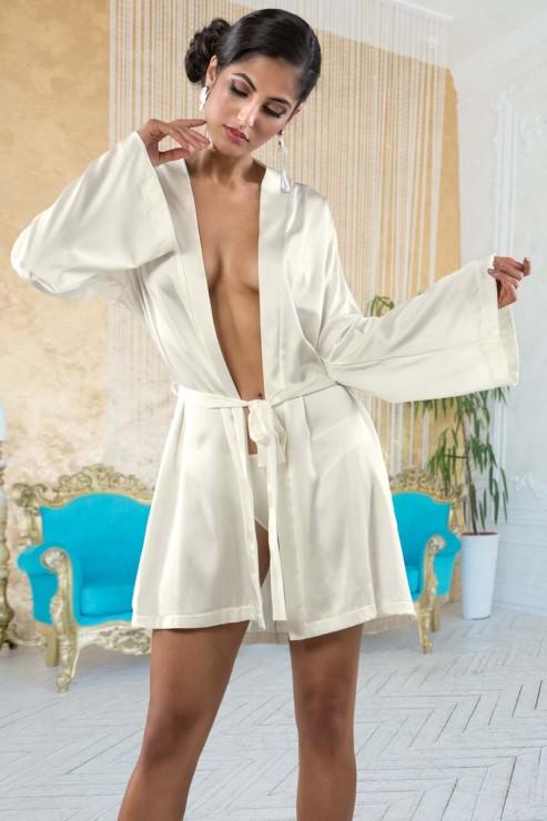 Cotton Club Seide - Kimono Intrepido - Champagner