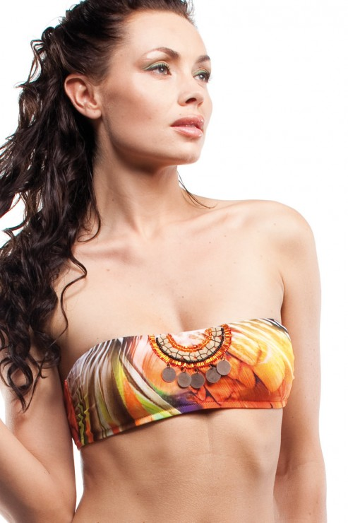 Cotton Club Beach - Bandeau Bikini Set - Samburu