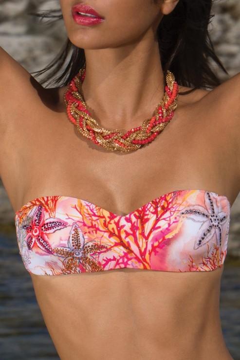 Cotton Club Beach - Bandeau Bikini Set - BG8 BL4