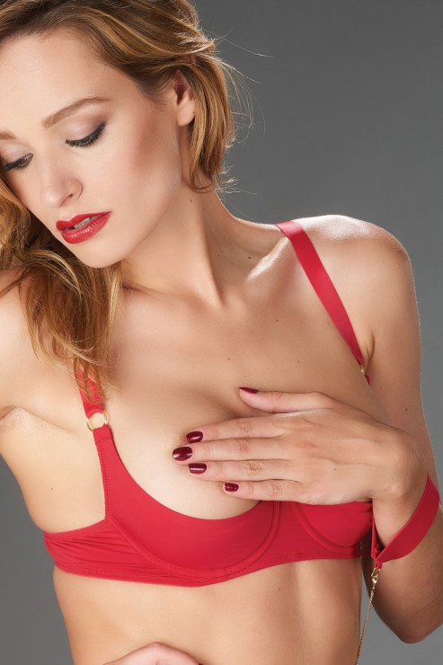 Maison Close - Tapage Nocturne Hebe BH - Rot